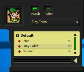 Изменение голоса в MorphVox Junior