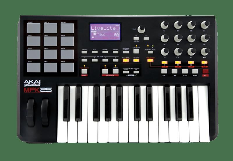 Поддержка MIDI-устройств в NanoStudio