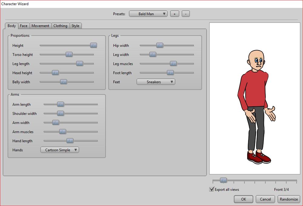 Создание собственного персонажа в Anime Studio Pro