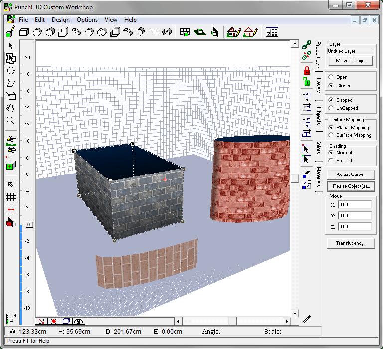 Свободное моделирование в Punch Home Design