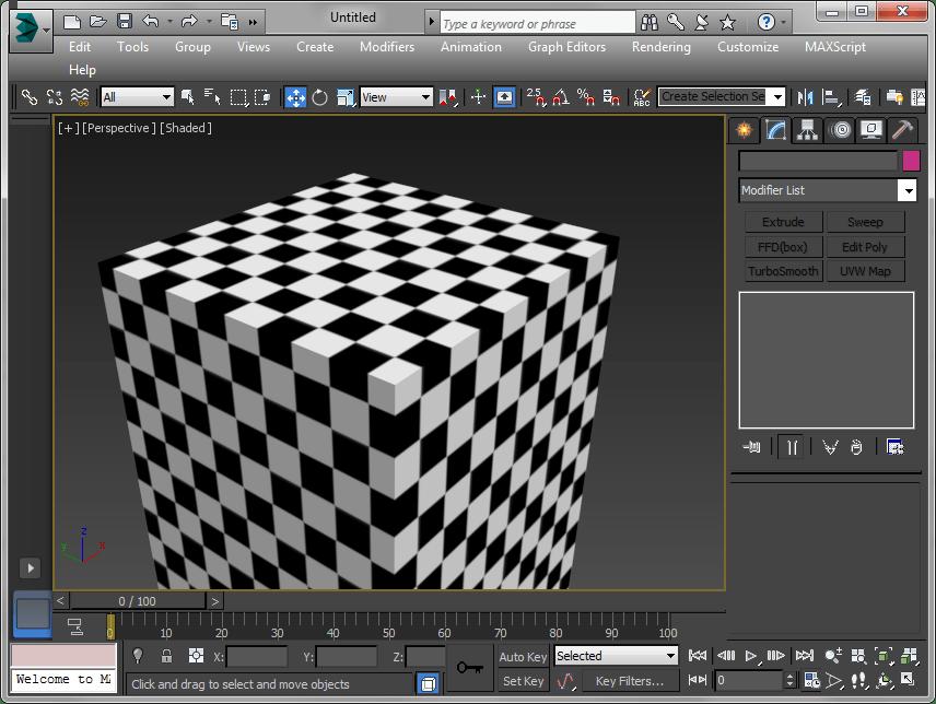Текстурирование  в Autodesk 3ds Max