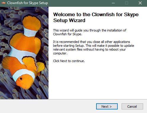 Установка Clownfish