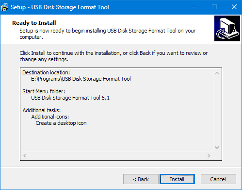 Установка HP USB Disk Storage Format Tool (5)