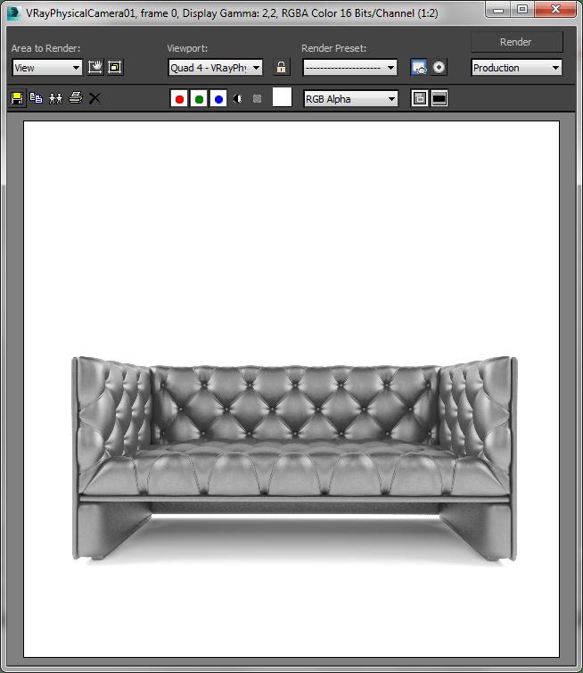Визуализация  в Autodesk 3ds Max