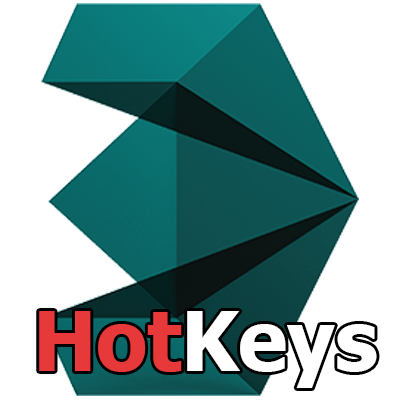 3ds Max Logo hotkeys