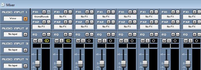 Аудиоэффекты в Kristal Audio Engine