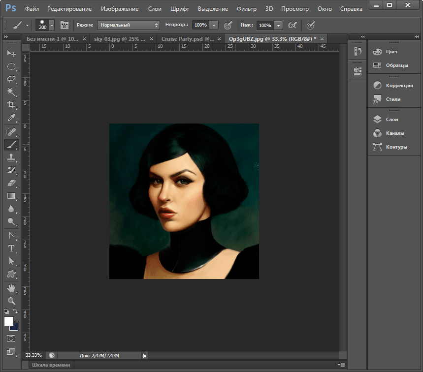Corel Draw или Adobe Photoshop 6