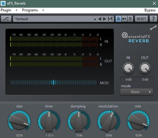 Добавление аудиоэффектов в Samplitude