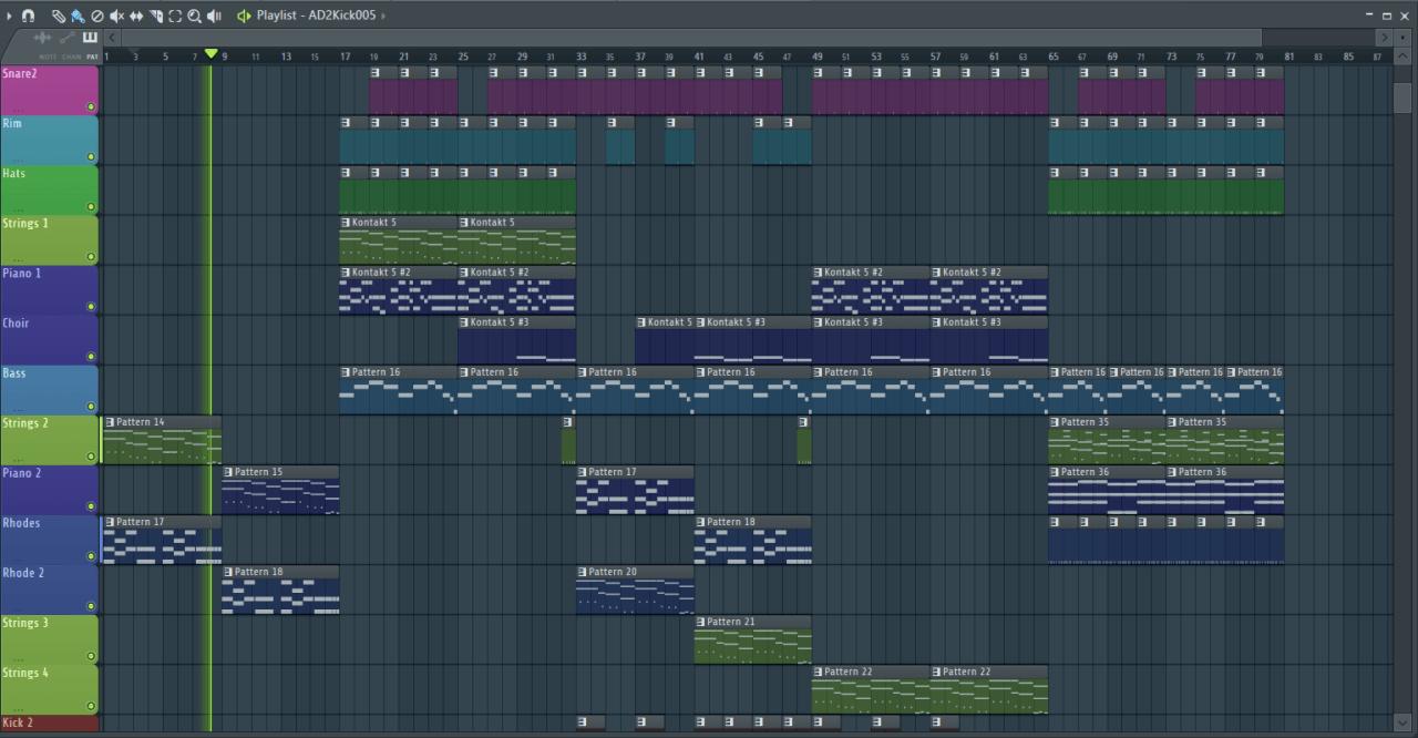 Как создать музыку в fl studio