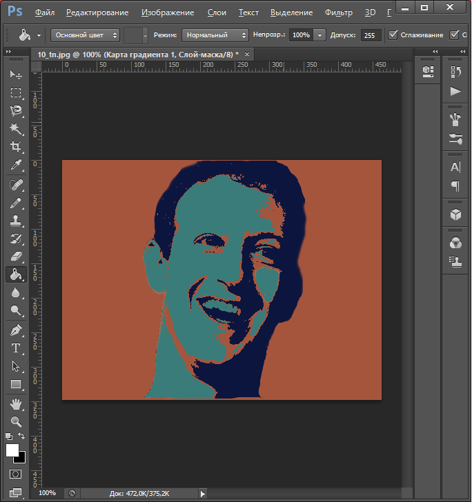 Готовый поп-арт портрет для Как сделать арт из фото