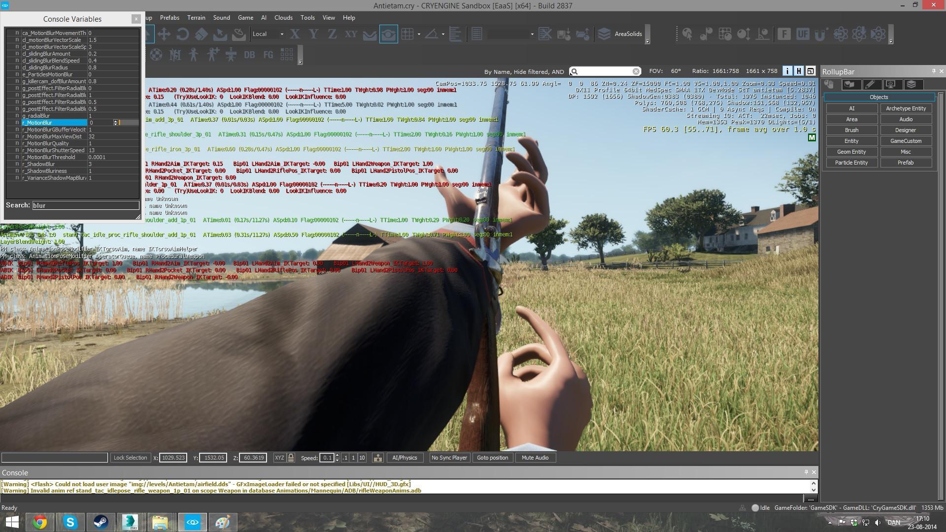 Manequen Editor CryEngine