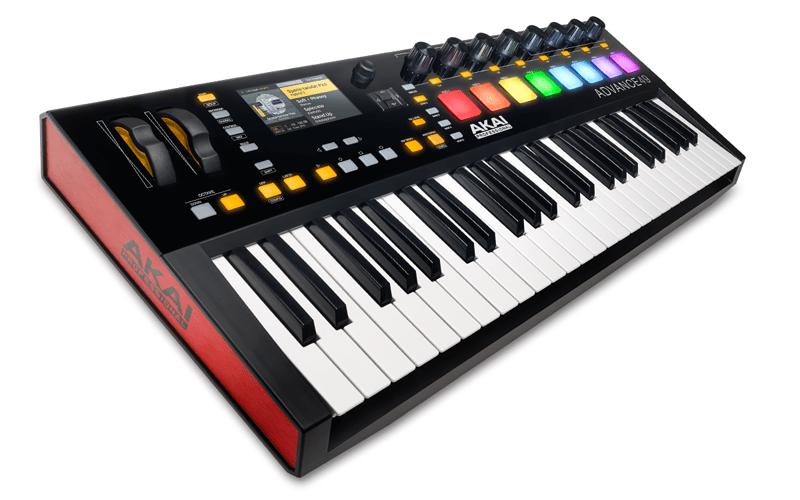 Поддержка MIDI-устройств в Reason