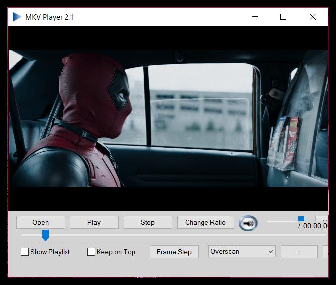 Поддержка многих форматов в MKV Player