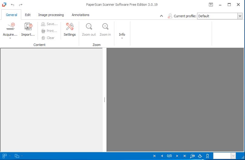 Программа PaperScan