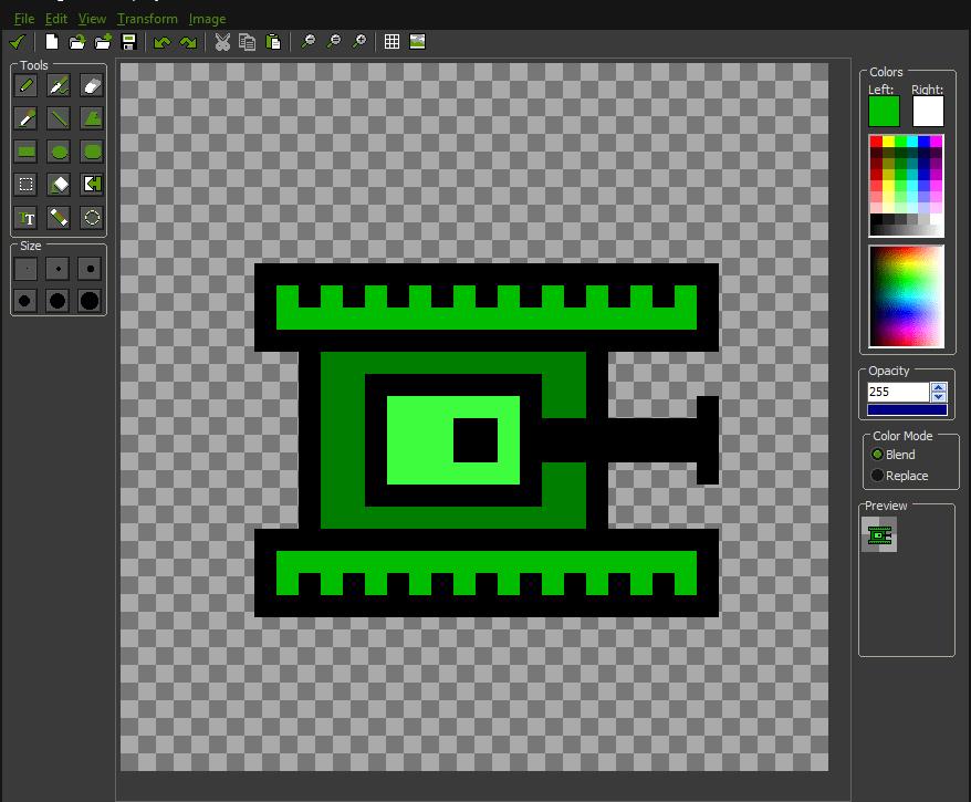 Рисование Game Maker