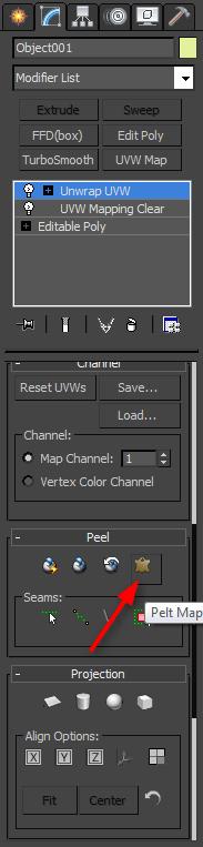 Сложное текстурирование в 3ds Max 5