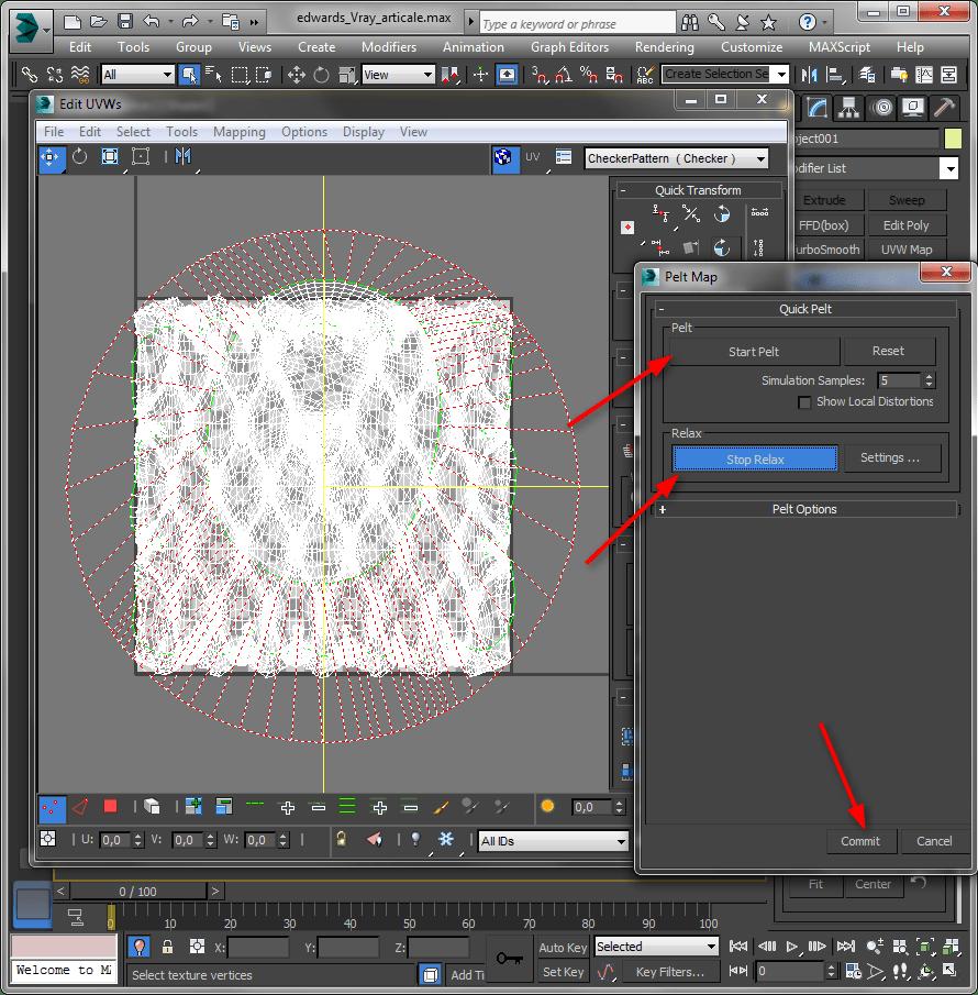 Сложное текстурирование в 3ds Max 6