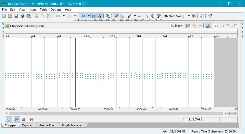 Создание ремиксов и сетов в Sony Acid Pro