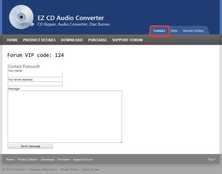 Справка и поддержка EZ CD Audio Converter (3)