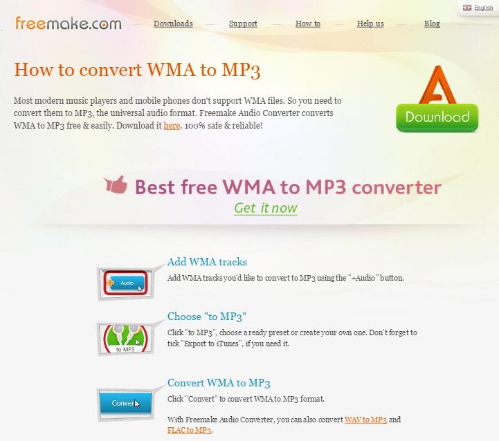 Справка и поддержка Freemake Audio Converter (2)