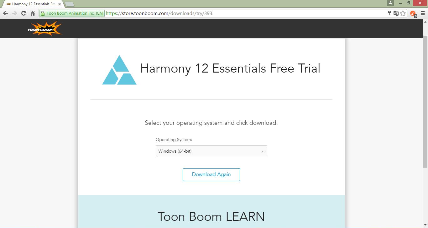 Загрузка Toon Boom Harmony
