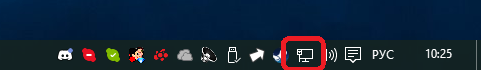 Значок подключения к интернету для Skype