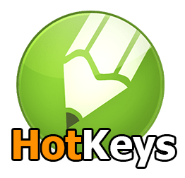 corel hotkeys logo