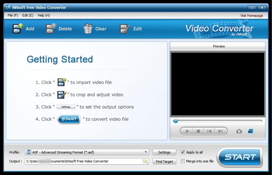 iWisoft Free Video Converter скачать бесплатно
