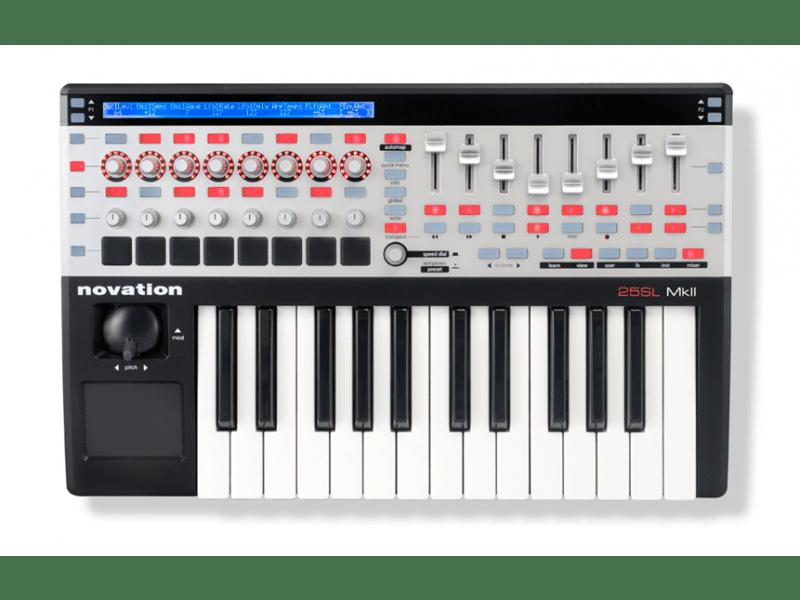 поддержка MIDI-устройств в Sony Acid Pro