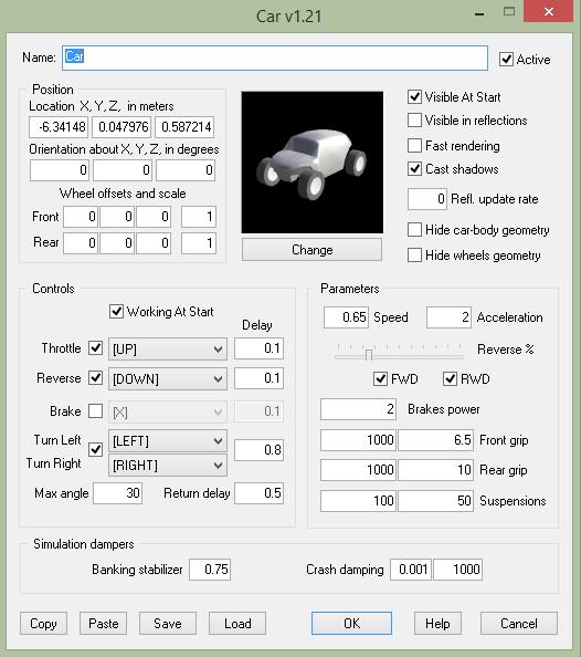 3D Rad Визуальное программирование