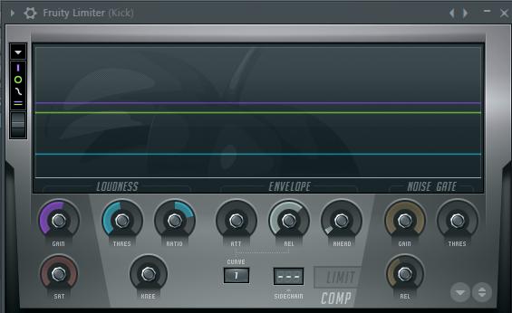 Fruity Limiter в FL Studio