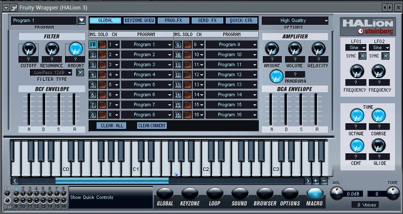 Halion VST плагин для FL Studio