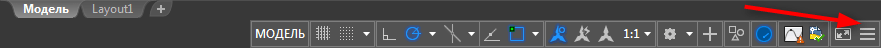 Как изменить толщину линии в  AutoCAD 3