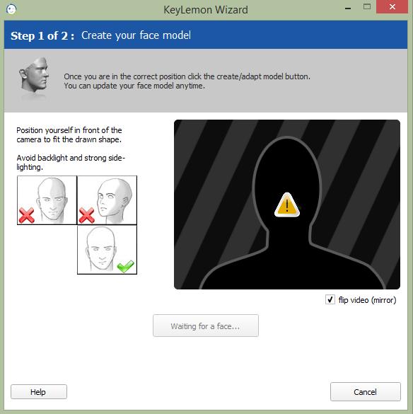 KeyLemon Модель лица