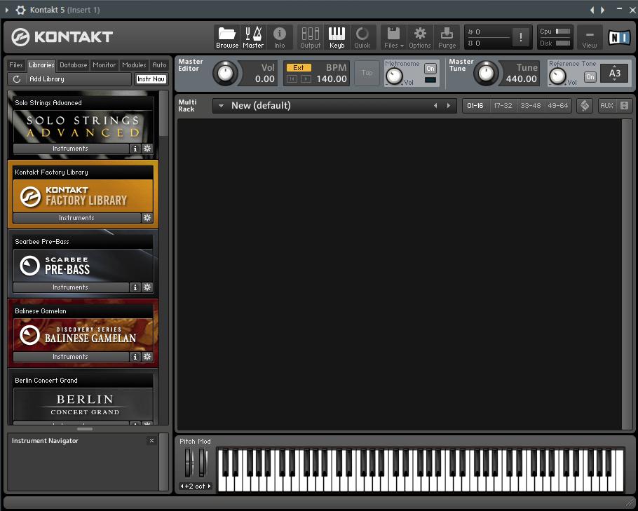 Kontakt 5 VST плагин для FL Studio