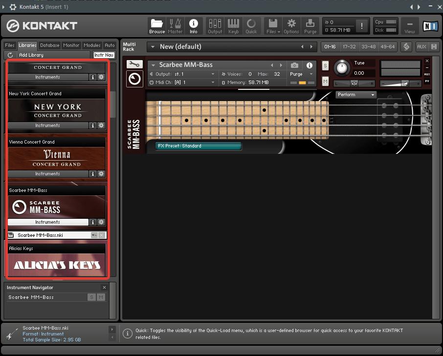 Kontakt NI в FL Studio