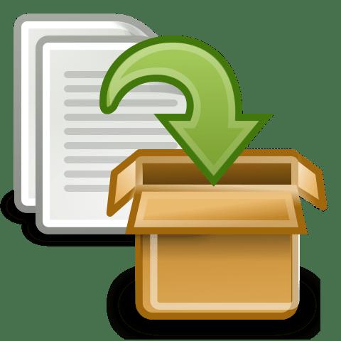 Логотип архивация писем в оутлук