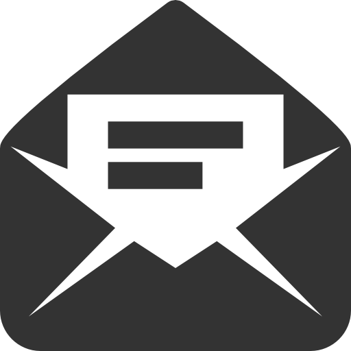Логотип скрытое письмо
