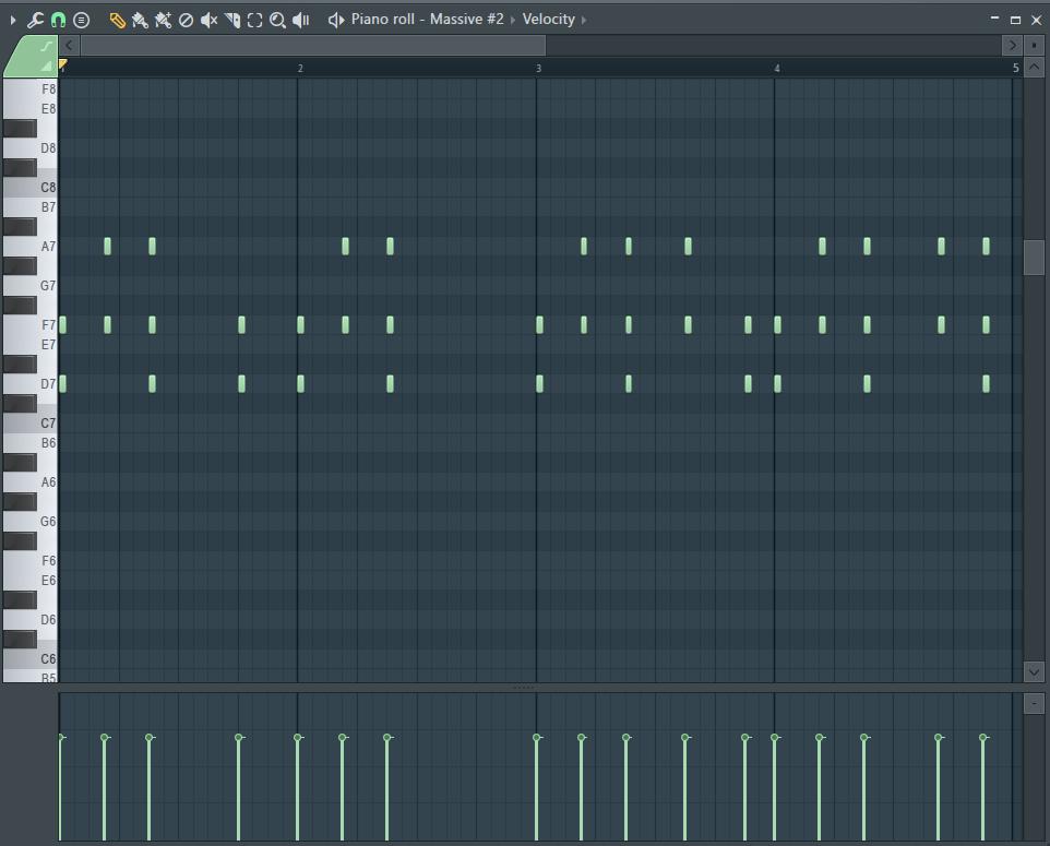 Музыкальное наполнение в FL Studio