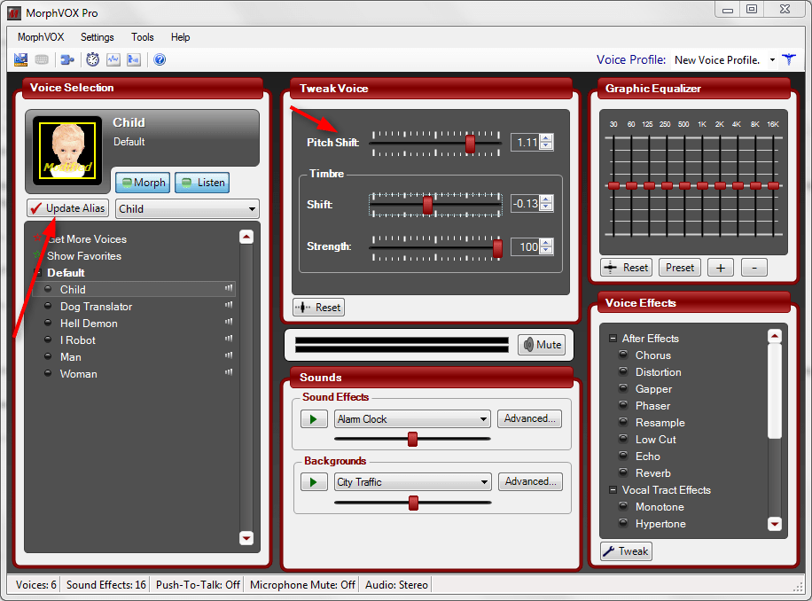 Настройка MorphVox Pro 2