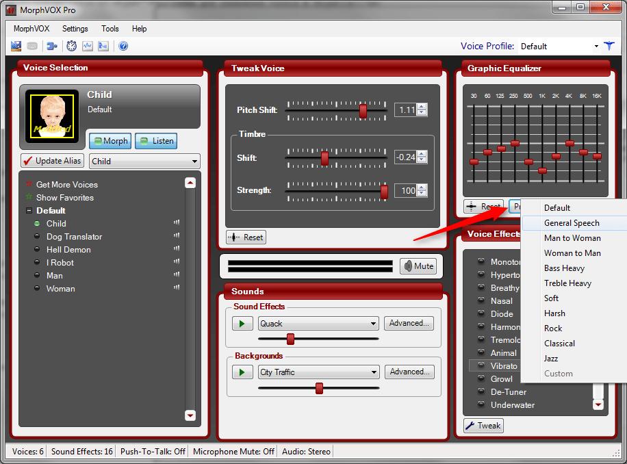 Настройка MorphVox Pro 3