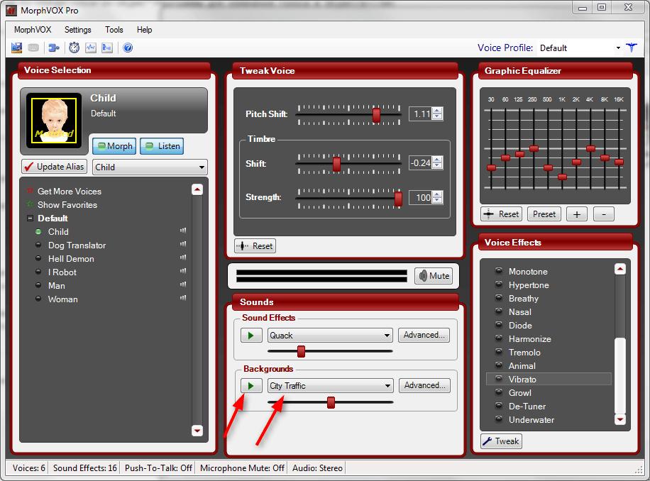 Настройка MorphVox Pro 4