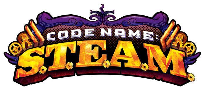 Необычный шрифт в Steam лого