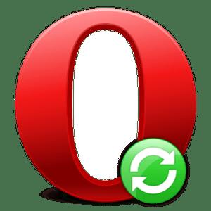 Обновление браузера Opera