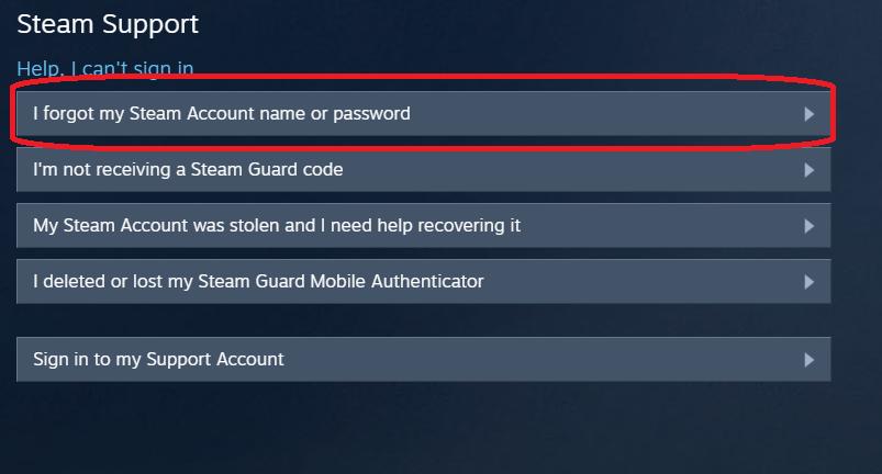 Проблема с паролем от Steam