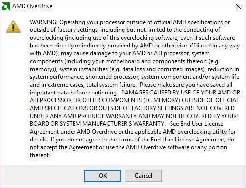 Установка AMD OverDrive