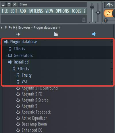 VST плагины в браузере для FL Studio