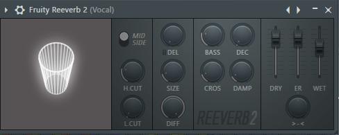 реверб вокала в FL Studio