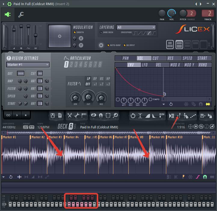 создать сэмпл в FL Studio