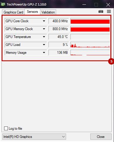 5. Пятый блок информации в TeckPowerUp GPU-Z